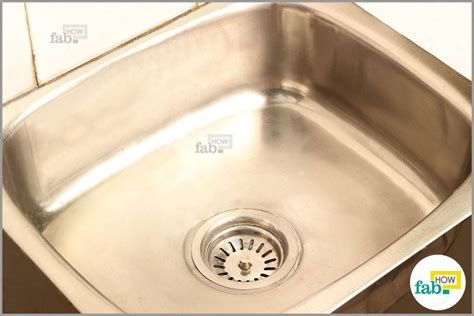 How To Clean A Stained Stainless Steel Sink And It