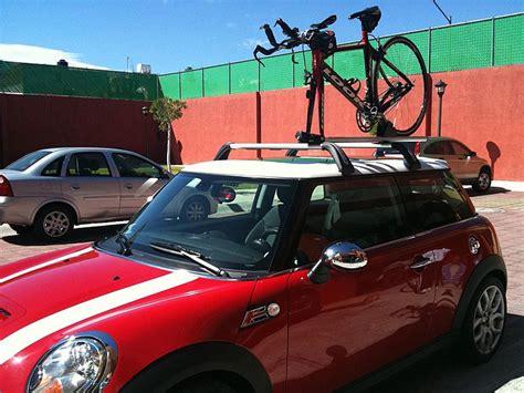 Mini Cooper Bike Rack Roof by Mini Roof Bike Rack Images