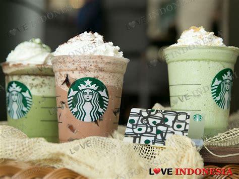 Varian Tea Chocolate Tea starbucks indonesia hadirkan varian baru frappuccino dengan kombinasi teh dan cokelat