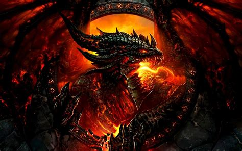 fire dragon   wallpapers hd resolution  cool