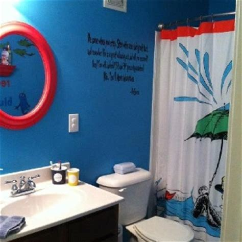 Dr Seuss Bathroom Accessories Dr Seuss Themed Bathroom Home Decor Diy