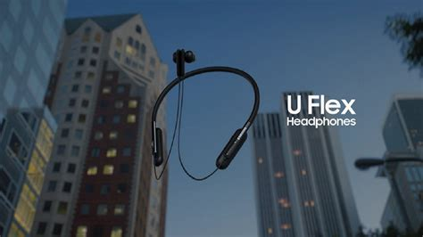 samsung announced u flex bluetooth headphones gizmochina