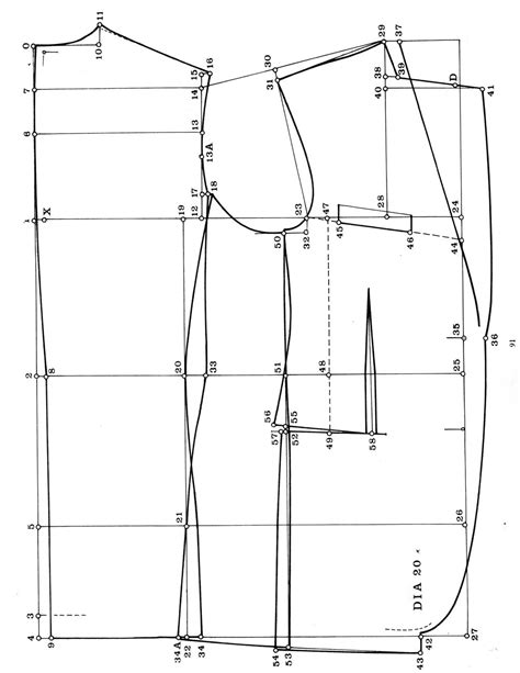 pattern drafting instructions posted image http www cutterandtailor com forum index
