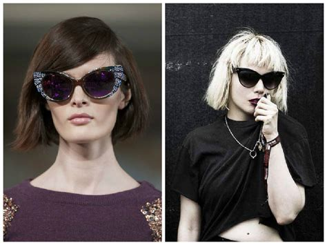 hairstyles for cat eye glasses the best short hairstyles to wear with glasses hair