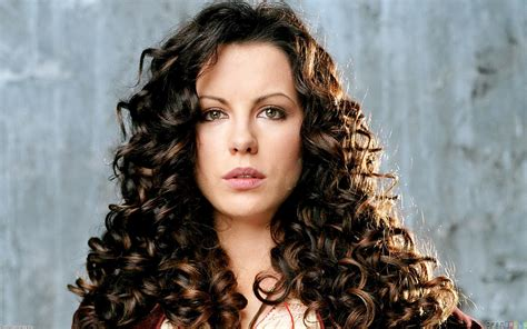 curly hair kate beckinsale curly hair wallpaper 10485 open walls