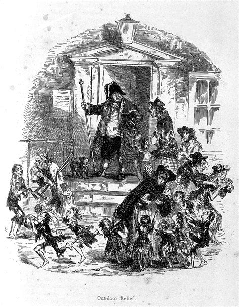 League Sigli Grey file poor coming to a workhouse for food c 1840