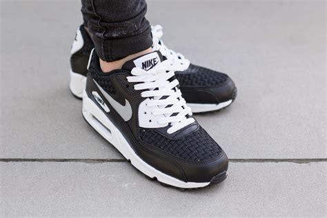 Nike Airmax 90 Black White air max 90 white black lanarkunitedfc co uk