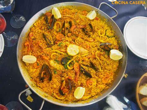 recetas de cocina paella de marisco recetas de arroz arroces f 225 ciles con v 237 deo