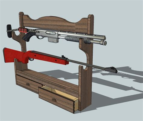 Gun Rack Designs by Build Gun Rack Template Diy Pdf Wooden Craft Table Condemned20ljb