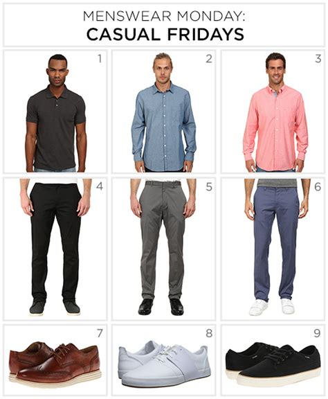 casual friday menswear monday what to wear on casual fridays zappos