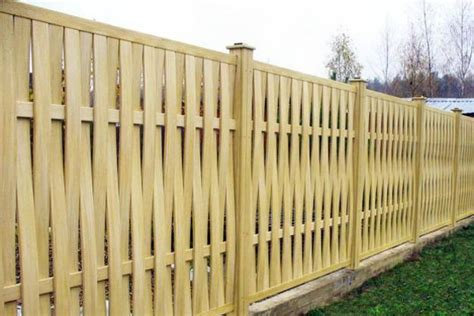 20 wood fence designs blending traditions and modern ideas