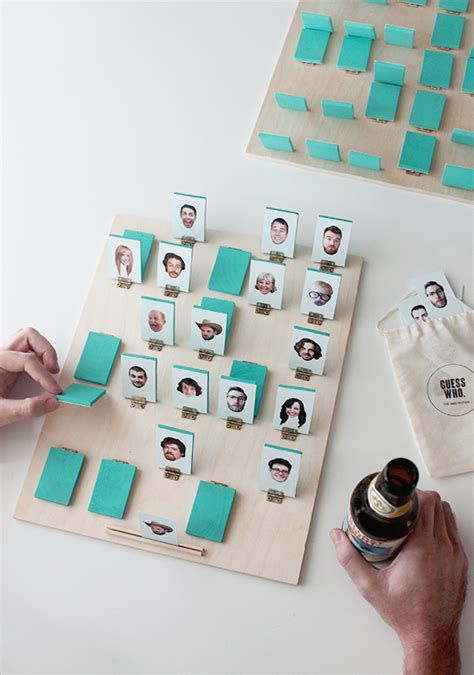design a zelf game how to personalized guess who inspired board game make