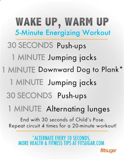 up and move a 5 minute energizing warmup no need for