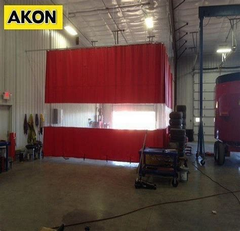 auto body shop curtains body shop curtains akon curtain and dividers