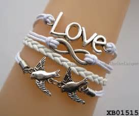 Bracelet Chains For Jewelry Making - special swallow bracelet infiniti love white jewelry teenage gifts baby gifts