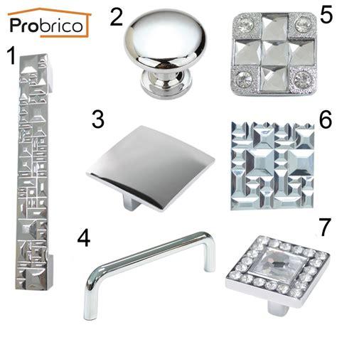 modern chrome kitchen cabinet knobs handles furniture probrico modern furniture drawer knobs zinc alloy polished
