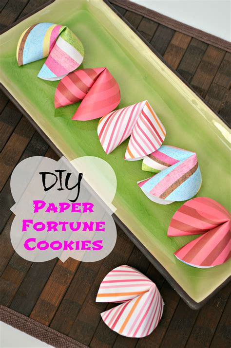 How To Make A Paper Fortune Cookie - make your own fortune cookies out of paper domestic