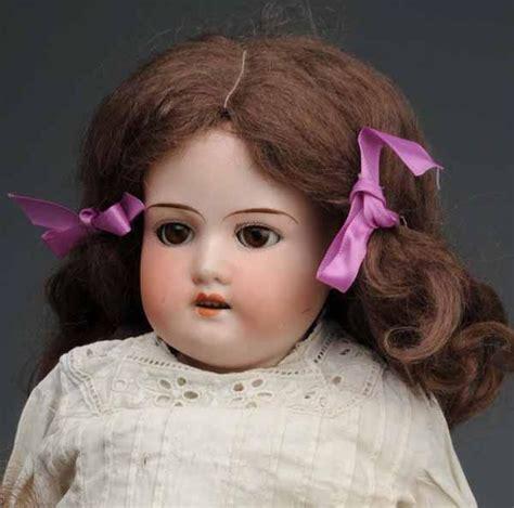 bisque doll image lot of 4 german bisque dolls