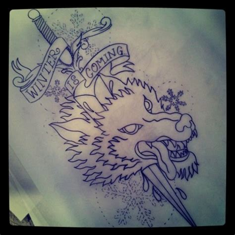 tattoo care in winter game of thrones wolf tattoo inspiration pinterest