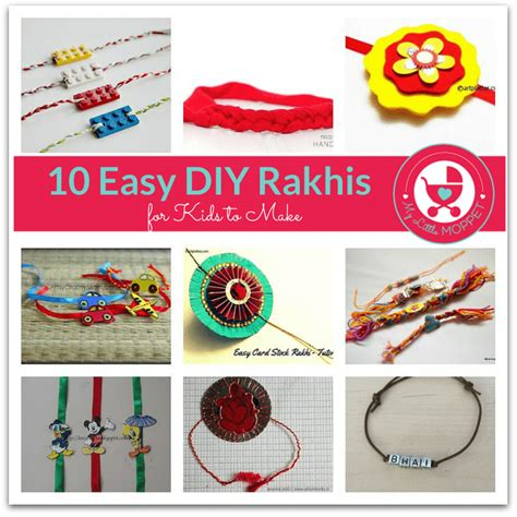 Handmade Rakhi Ideas - 10 simple diy handmade rakhi ideas for to make