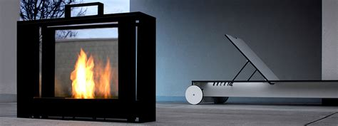 Portable Bio Ethanol Fireplace by Conmoto Travelmate Portable Ethanol Designer