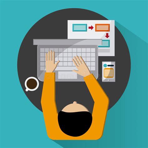 icone ufficio strategia e progettazione delle icone dell ufficio