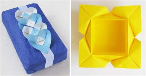 Origami Petal Box - origami petal box a to make