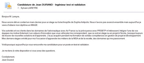 r 233 diger un email de motivation tout un