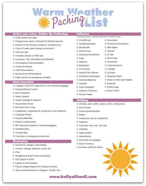 printable cruise packing list freebie finding mom