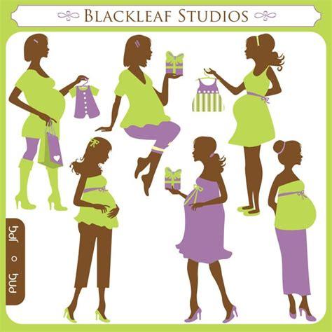 vorhänge clipart pregnancy silhouette clip cliparts co