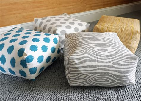 diy floor cushion diy easy boxy floor cushions