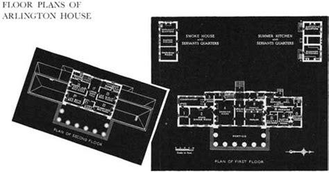 arlington house floor plan arlington house nmem guidebook 1941
