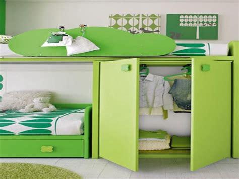 camerette per bambini con letto a cameretta a ponte angolare con letto