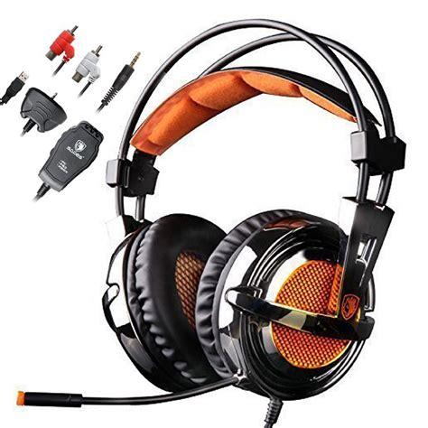 sades sa 928 stereo gaming headset computer headphones 7 1