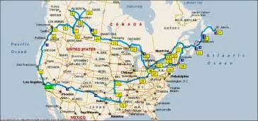 canada road maps american and canadian road trip 2011 invisible