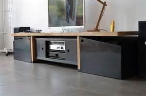 meuble platine vinyle baru design