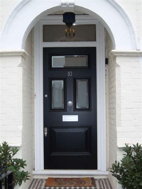 Edwardian Front Door Edwardian Bespoke Door With Etched Glass With Clear Border 37 Edwardian Bespoke Door