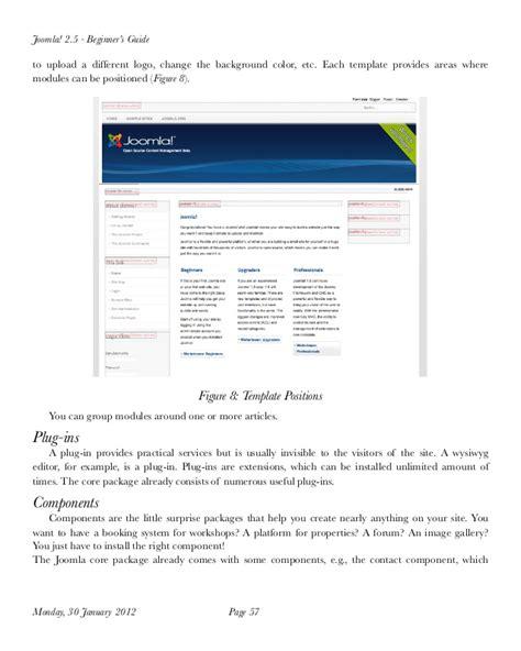 tutorial joomla pdf español joomla 2 5 tutorial for beginner pdf