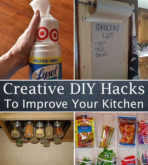 diy hacks 10 creative diy hacks to improve your kitchen