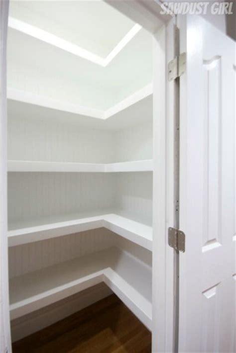 hall closet  floating shelves closet shelves hall