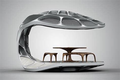 designboom volu zaha hadid volu dining pavilion at design miami