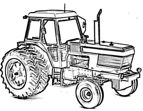 ford tractor coloring page tractor ford tw15 coloring page construction color pages