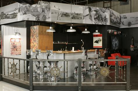 hot rod home decor garage mahal showcases warehouse pendants and hot rod