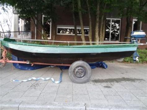 roeiboot 3 meter roeiboot staal 4 5 meter met motor advertentie 610714