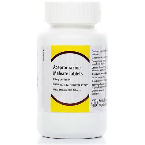 acepromazine for dogs acepromazine maleate 25mg per tab