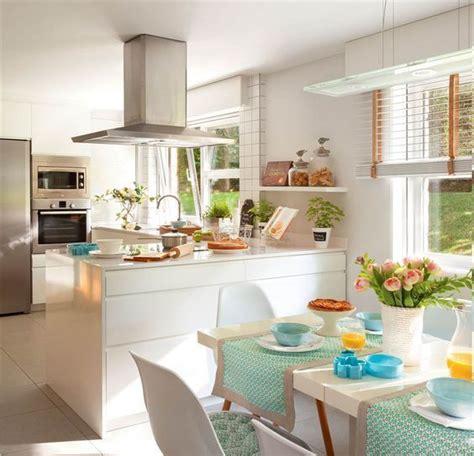 cocinas bonitas  fotos  inspirarte en la decoracion