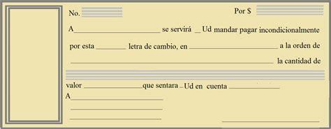 como llenar una letra de cambio ejemplos de como llenar una letra ejemplo de letra de cambio