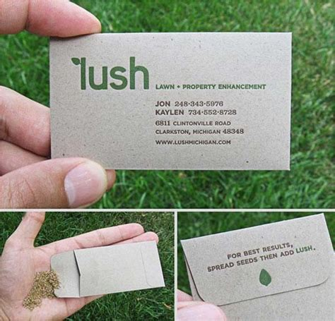 landscape business cards 29 cool business cards that are unforgettable awesome business cards