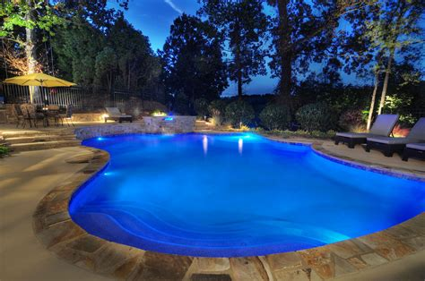 pool pics pool and area lighting c m electrical contractors inc