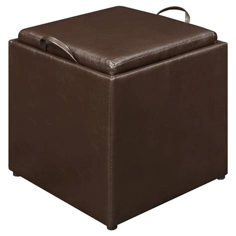 single ottoman upc 095285409488 convenience concepts 143010 designs 4
